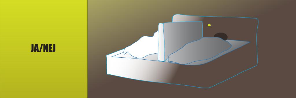 Bild koncept JA/NEJ