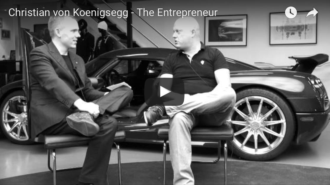 Christian von Koenigsegg – Svensk sportbil